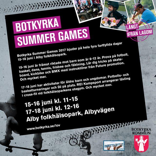 Botkyrka summer games Futurepromotion