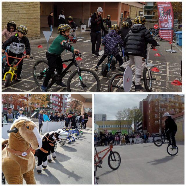 BMX Skolshow, Huusbygårdsskolan
